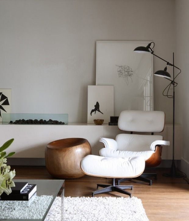 midcentury rocking chair jazzy power used eames lounge in living room | home - pinterest eames, black bookshelf and ...