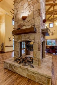 17 Best ideas about 3 Sided Fireplace on Pinterest