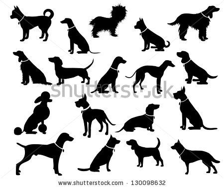 53 best images about Dog silhouette on Pinterest