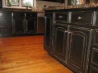 25+ best Black distressed cabinets ideas on Pinterest ...