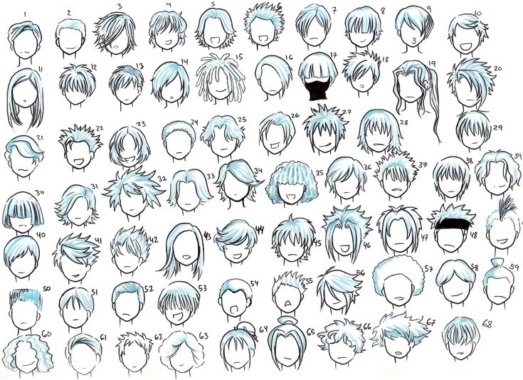 25 Best Ideas About Anime Boy Hairstyles On Pinterest Anime