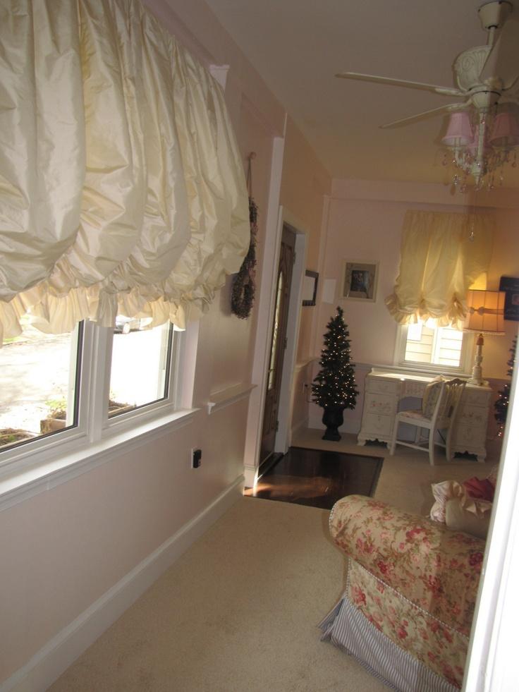 Balloon Shades Lil Girls Bedroombathroom Window