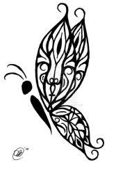 1000 ideas tribal butterfly