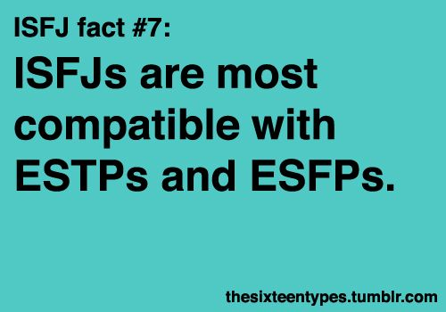 ISFJ compatibility Funny since my best friend is an ENFP
