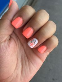 nice Star fish nails Summer Nautical... | Summer Nail Art ...