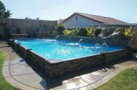 48 best images about Semi Inground Pools on Pinterest | On ...