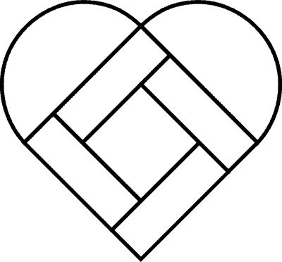 25+ best ideas about Heart Quilt Pattern on Pinterest