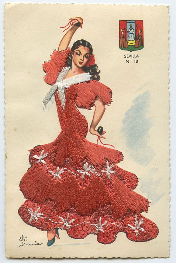 26 Best Images About Flamenco Vintage On Pinterest