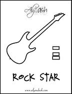 17 Best images about Rock Star Theme on Pinterest
