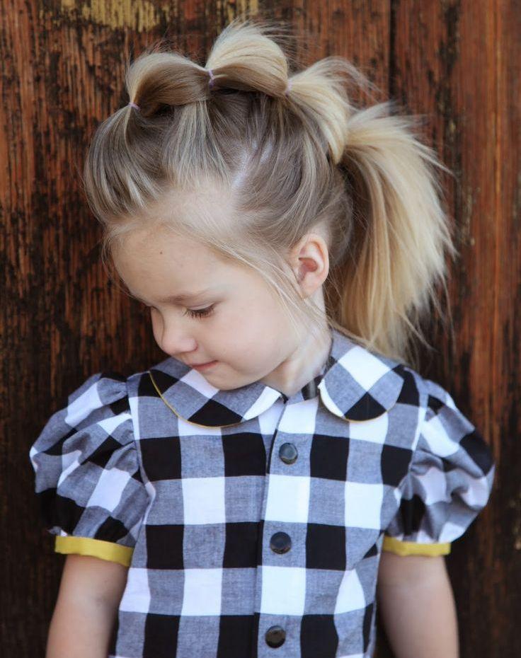25 Best Ideas About Little Girl Hairstyles On Pinterest Kid