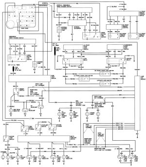 1990 Ford Steering Column Diagram | Repair Guides | Wiring Diagrams | Wiring Diagrams | AutoZone