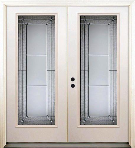 Mastercraft 72 x 80 Steel Full Lite French Patio Door w