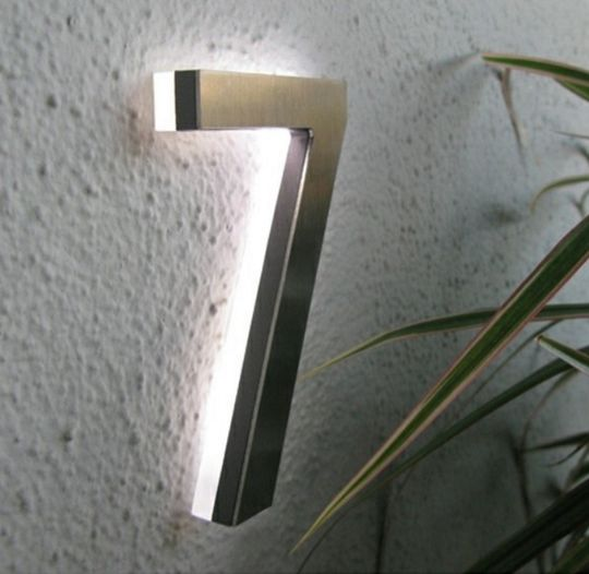 25 Best Ideas About House Numbers Modern On Pinterest House