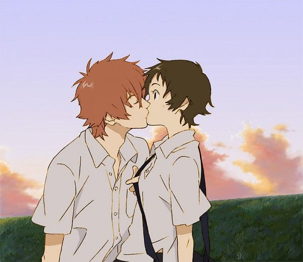 "Makoto and Chiaki from ""The Girl Who Leapt Through Time"""