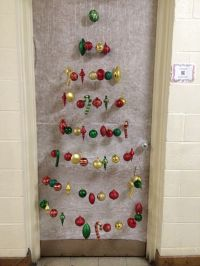 My Christmas door for the Health Office 2013 - a Christmas ...