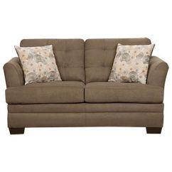 Sleeper Sofas At Big Lots Louis Xv Sofa Reion Simmons® Velocity Shitake Loveseat With Gigi Pillows ...