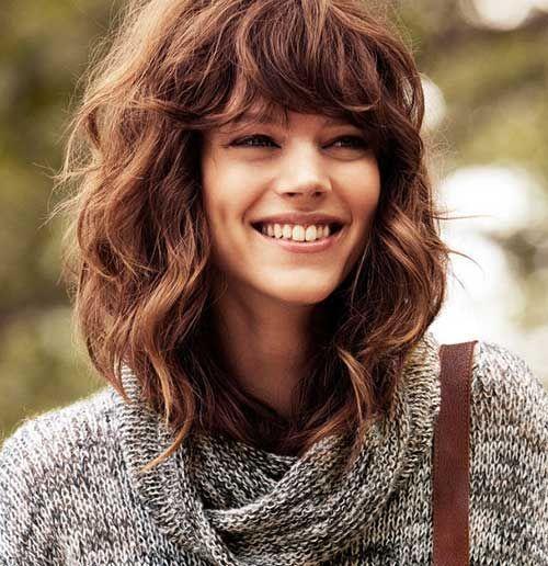 25 Best Ideas About Wavy Medium Hairstyles On Pinterest Medium