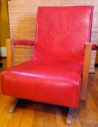 Reserved for Bonnie ..... Mid Century Kids Rocker - Vinyl ...