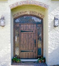 Country Style Front Doors | Country French Exterior Wood ...