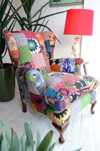 25+ best ideas about Patchwork Chair on Pinterest