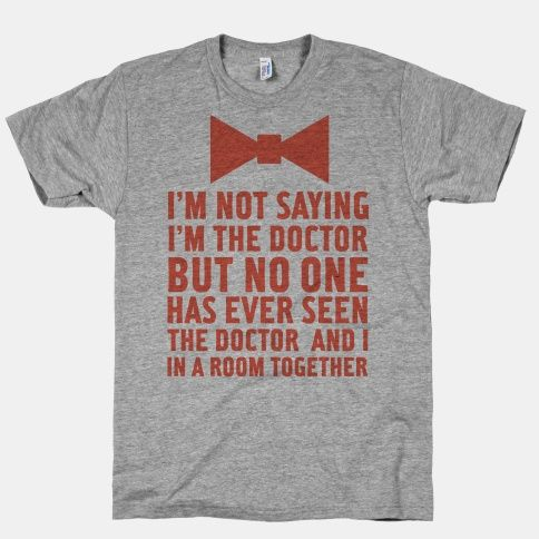 Im Not Saying Im the Doctor