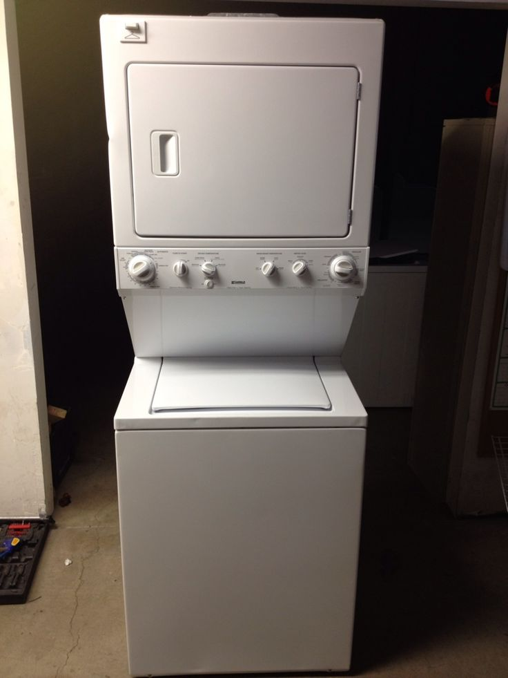 Kenmore Stackable Washer Dryer  Newer Kenmore 27 Stackable WasherDryer  Recipes to Cook