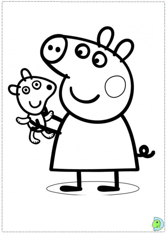 25+ best ideas about Peppa Pig Colouring on Pinterest