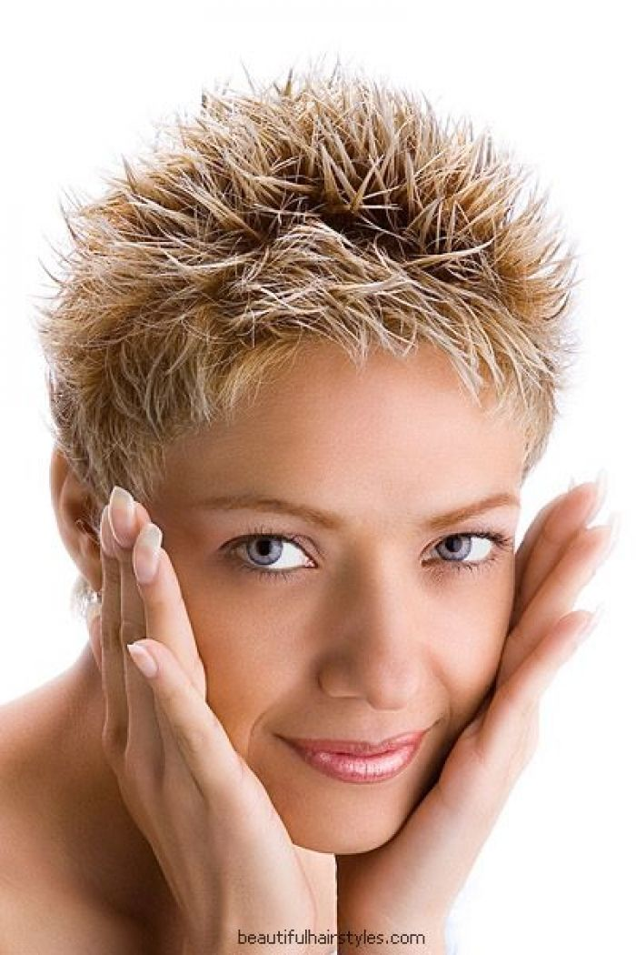 Funky Very Short Hairstyles For Women Over 50  Very Short Spiky Hairstyles For Women Over 60