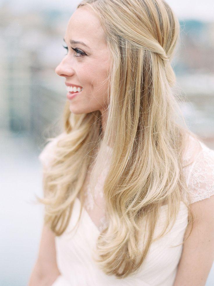 Best 25+ Straight Wedding Hairstyles ideas on Pinterest
