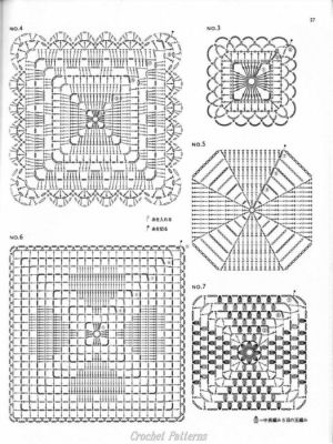 1000 images about Crochet patternsdiagrams on Pinterest