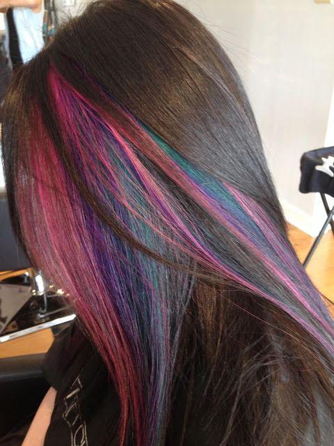 25 Best Ideas About Rainbow Highlights On Pinterest Rainbow