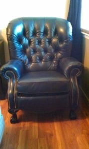 Recliners Black leather and British columbia on Pinterest