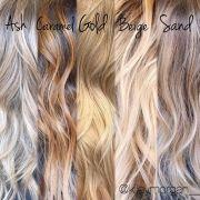 blond highlights ideas
