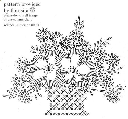 137 Best Redwork Embroidery Images