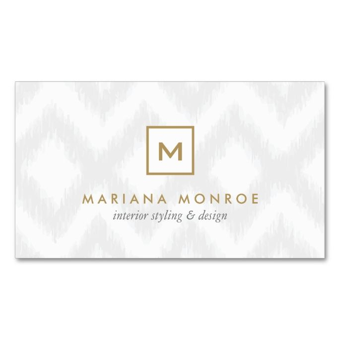 2291 best images about Monogram Business Card Templates on