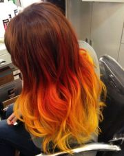 orange brown hair ideas