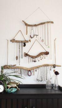 25+ Best Ideas about Jewelry Hanger on Pinterest   Diy ...