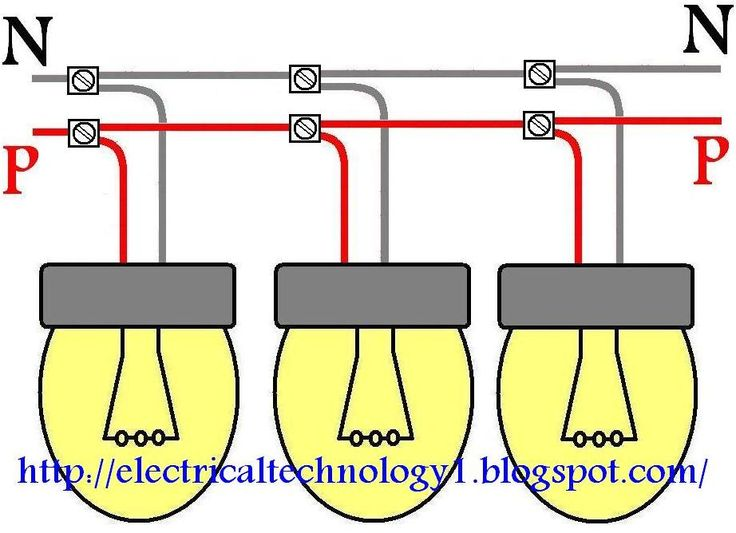 110v Plug Wiring Diagram Uk How To Wire Lights In Parallel Parallel Wiring For