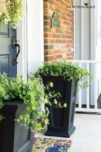10 Best ideas about Front Door Planters on Pinterest ...