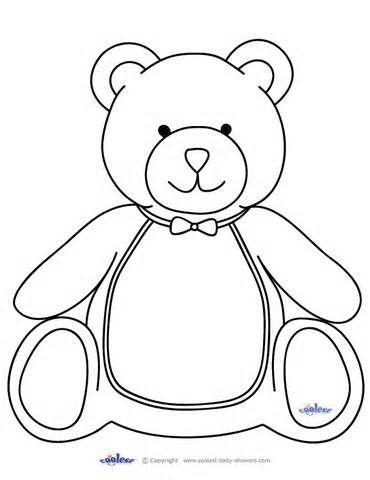 Preschool ideas- Teddy Bear Hospital Unit: cut out teddy
