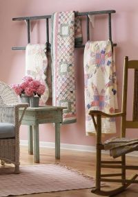 1000+ ideas about Quilt Racks on Pinterest | Quilt Display ...