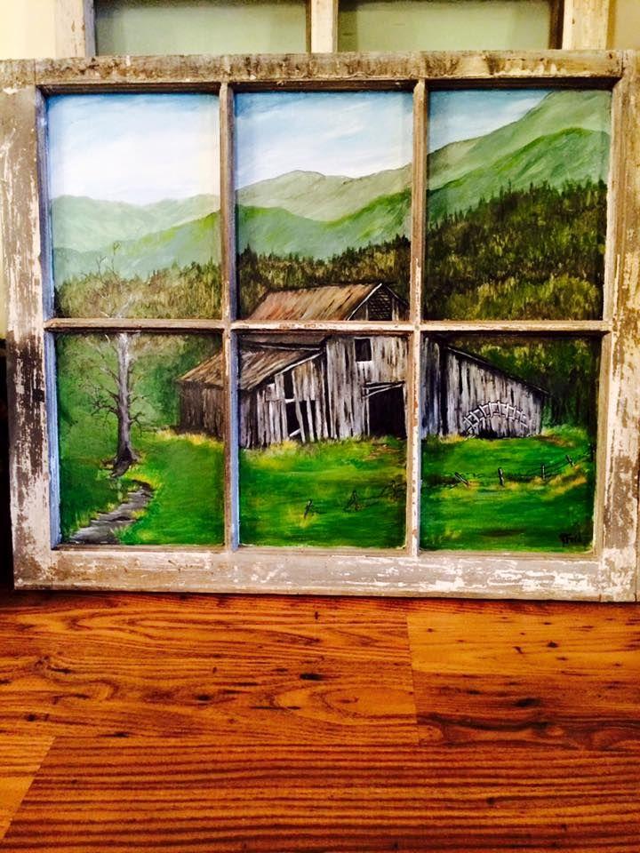 25+ Best Ideas about Painted Window Art on Pinterest