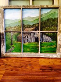 25+ Best Ideas about Painted Window Art on Pinterest