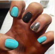 ideas aqua nails