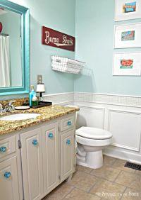 Sherwin Williams Tidewater Turquoise Bathroom | Bathroom ...
