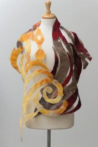 25+ Best Ideas about Nuno Felt Scarf on Pinterest | Nuno ...