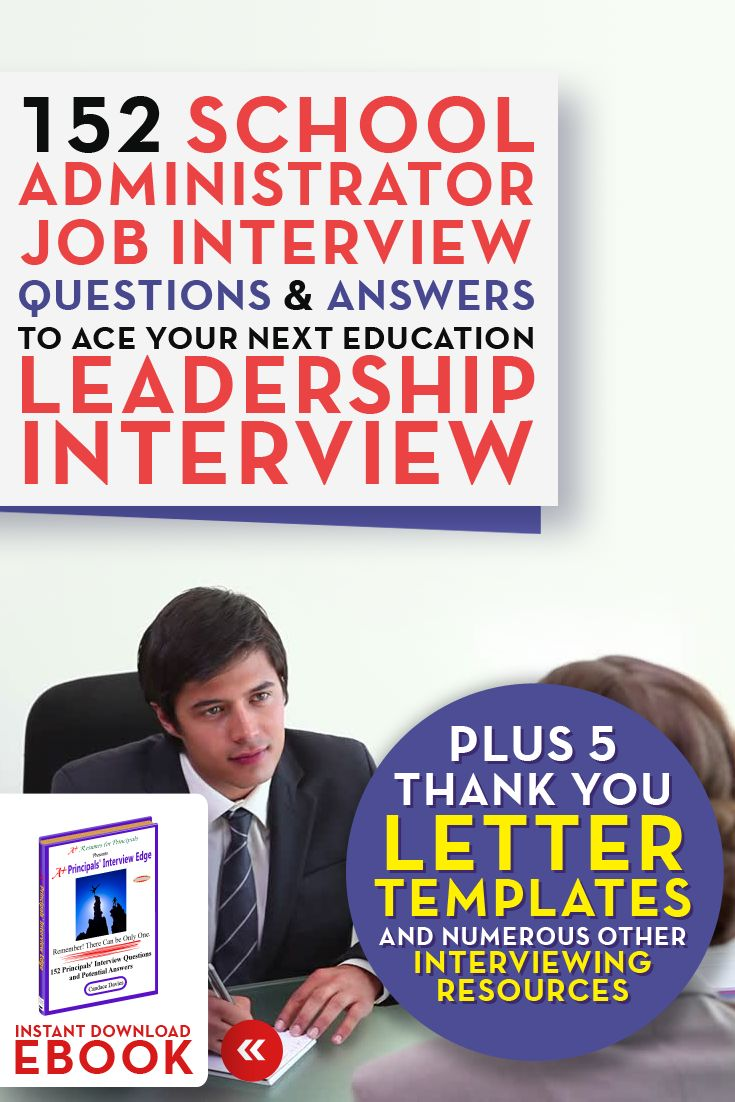 interview questions for assistant principals