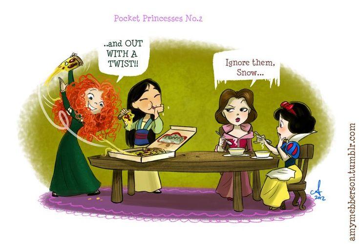 Pocket Princesses by Amy Mebberson  # 37     amys so funny i love the pocket
