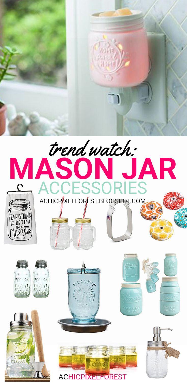 25 best ideas about Mason jar kitchen decor on Pinterest