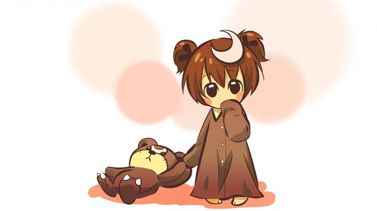 Cute Teddy Bears Wallpapers Hd Cute Anime Hd Wallpaper 1366 215 768 Cute Art Pinterest